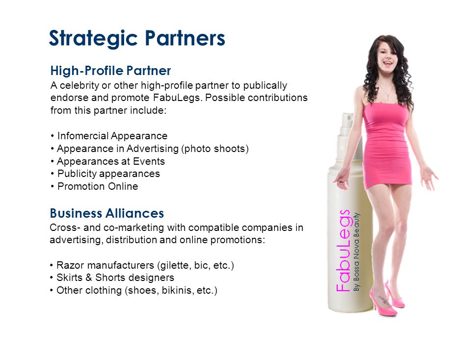 Strategic Partners High-Profile Partner Business Alliances