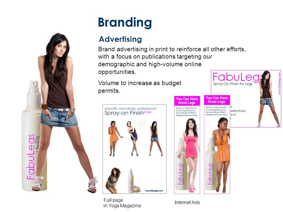 Branding Advertising.