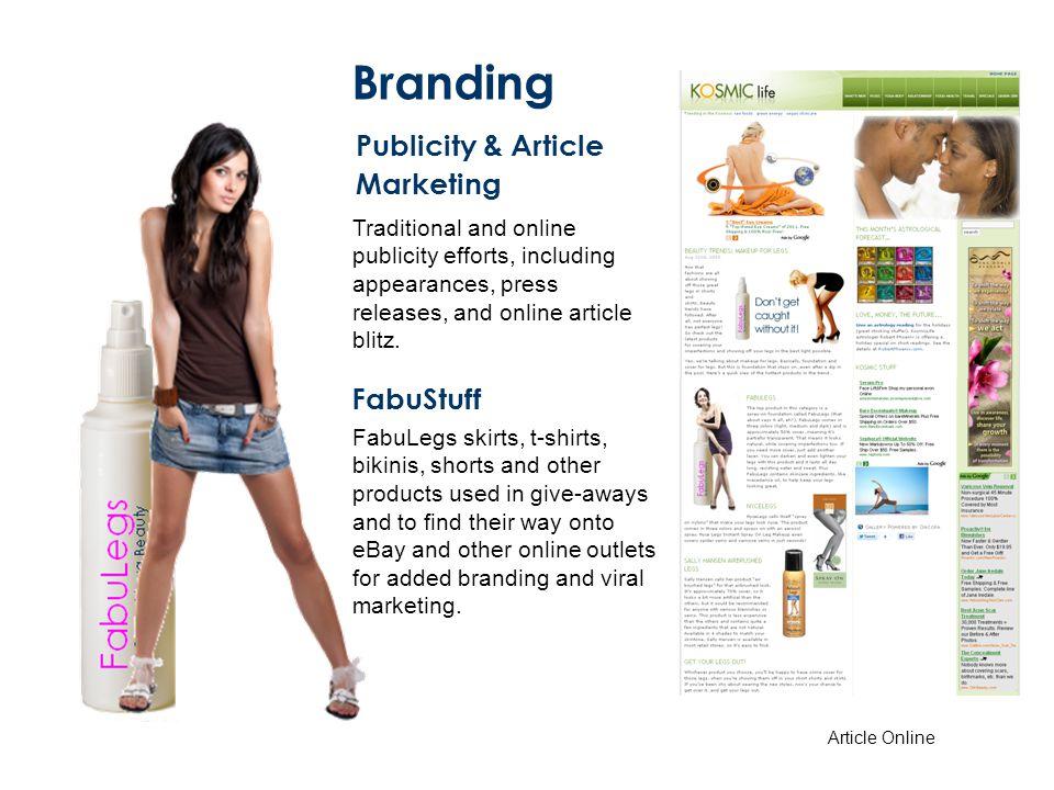 Branding Publicity & Article Marketing FabuStuff