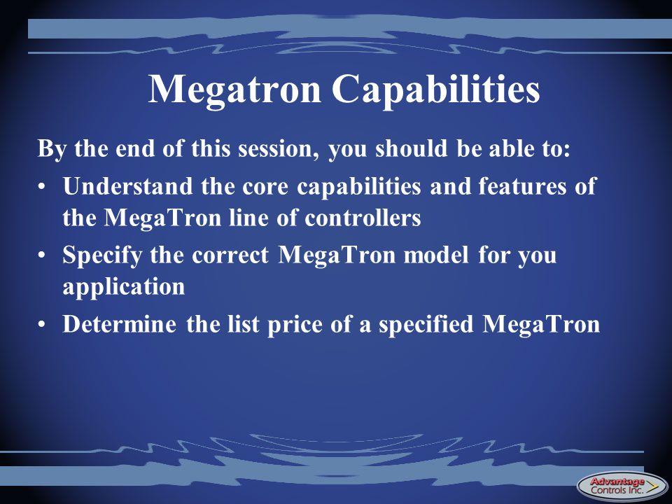 Megatron Capabilities