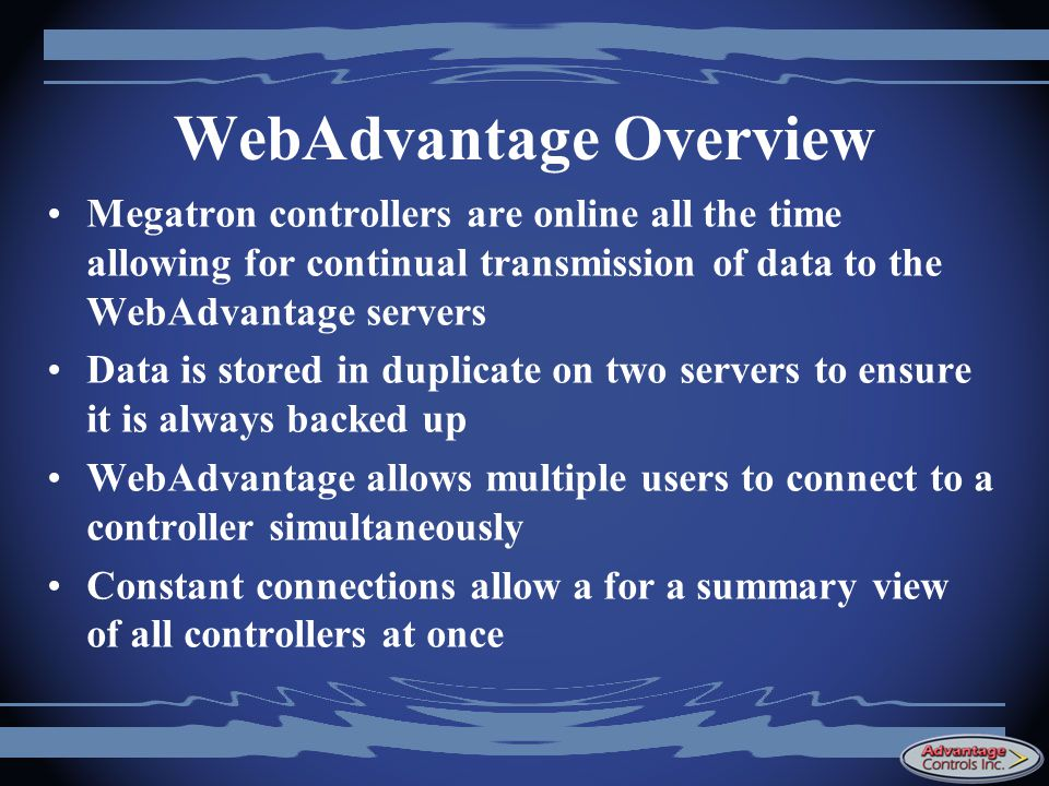 WebAdvantage Overview