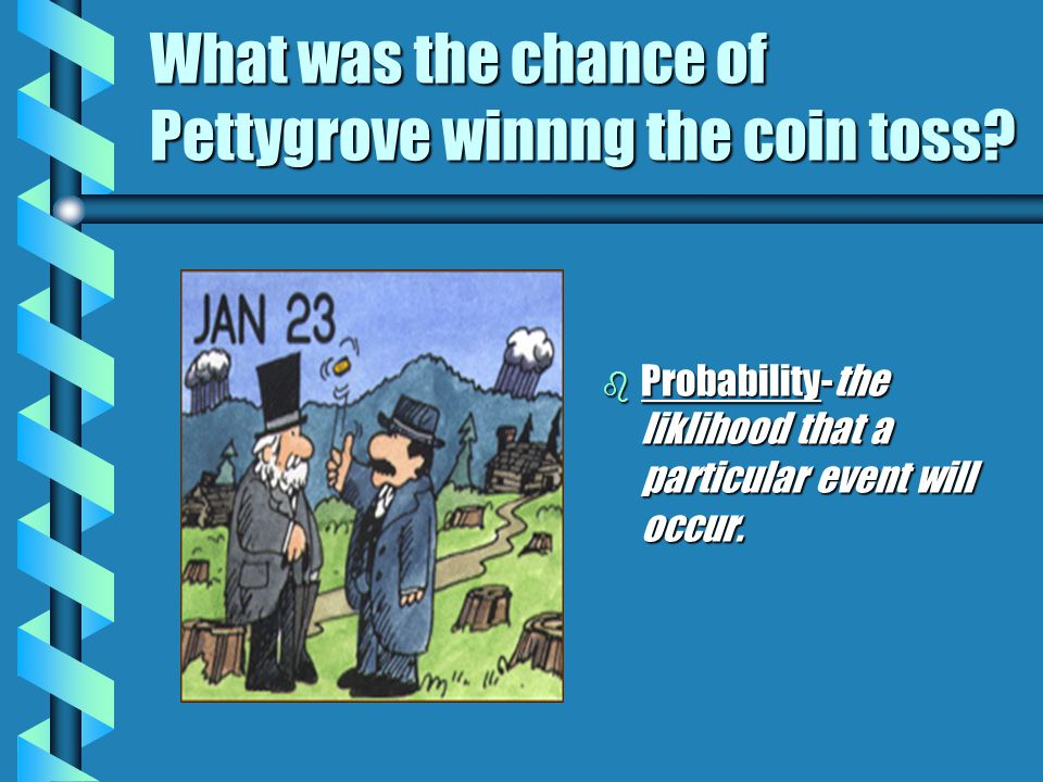 What was the chance of Pettygrove winnng the coin toss