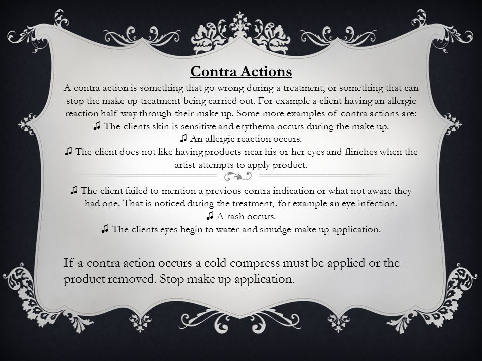 Contra Actions
