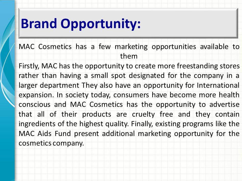 Brand Opportunity: