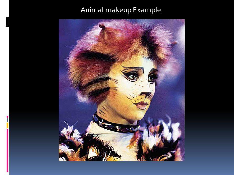 Animal makeup Example