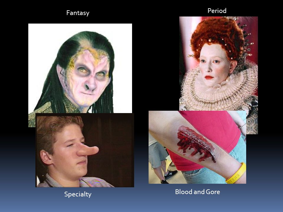 Period Fantasy Blood and Gore Specialty