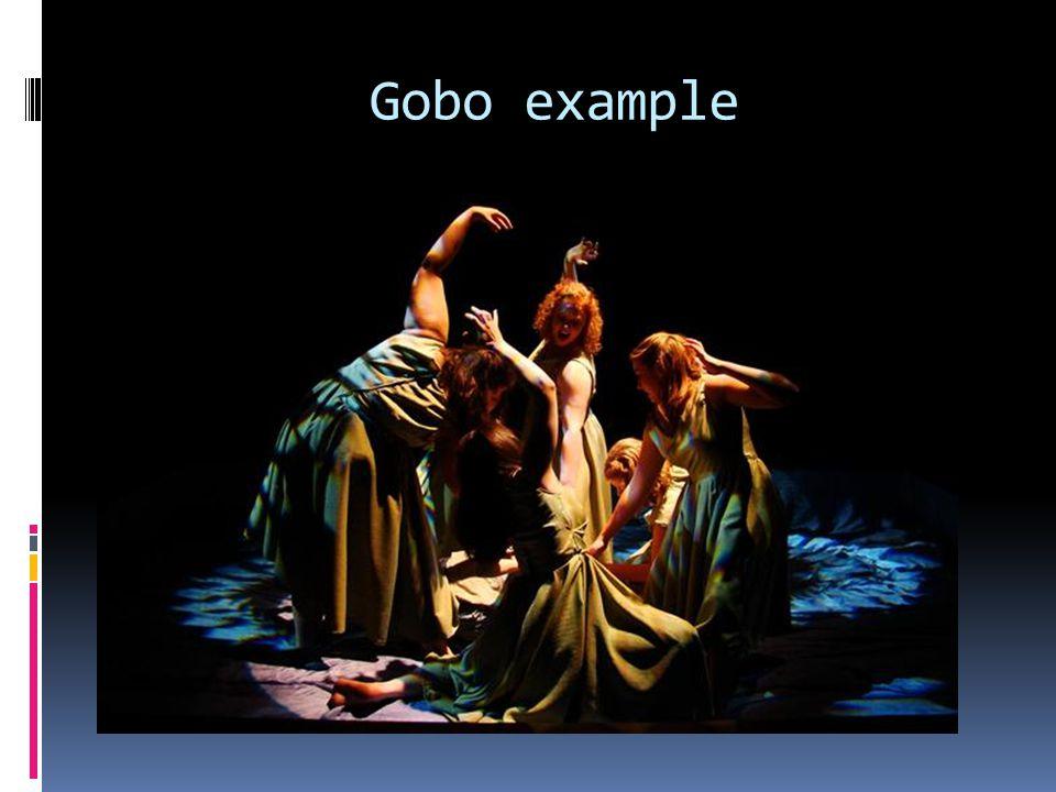 Gobo example