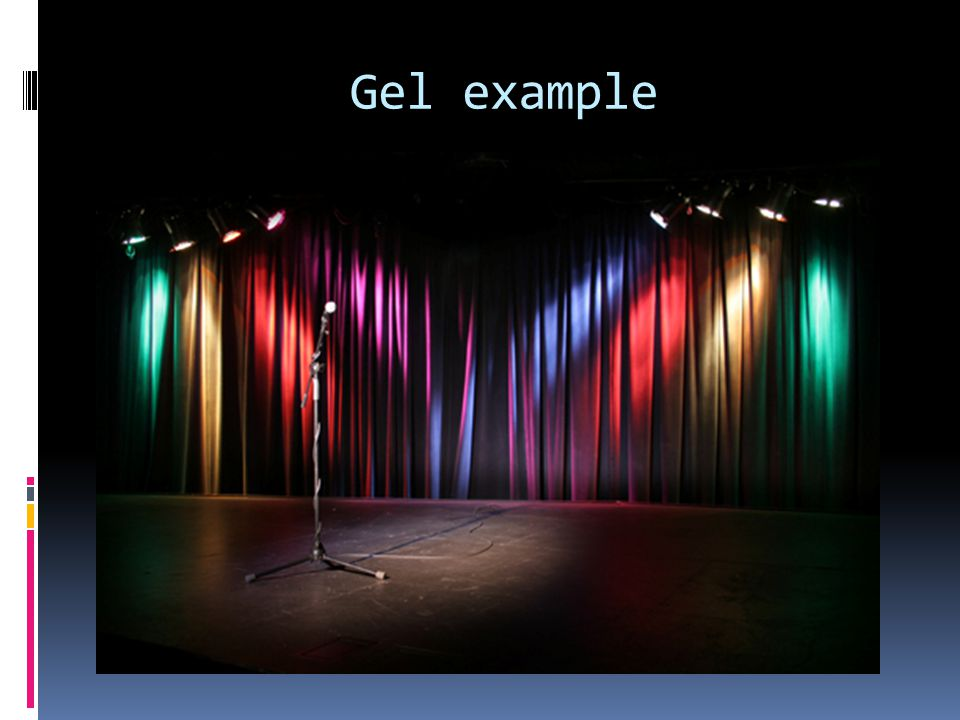 Gel example
