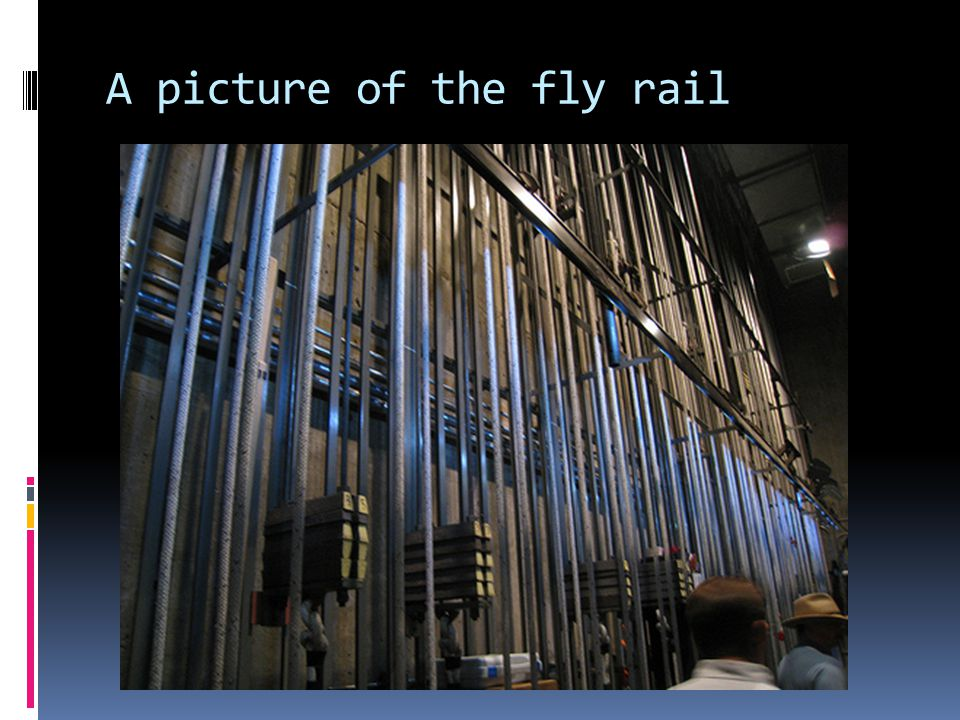 A picture of the fly rail