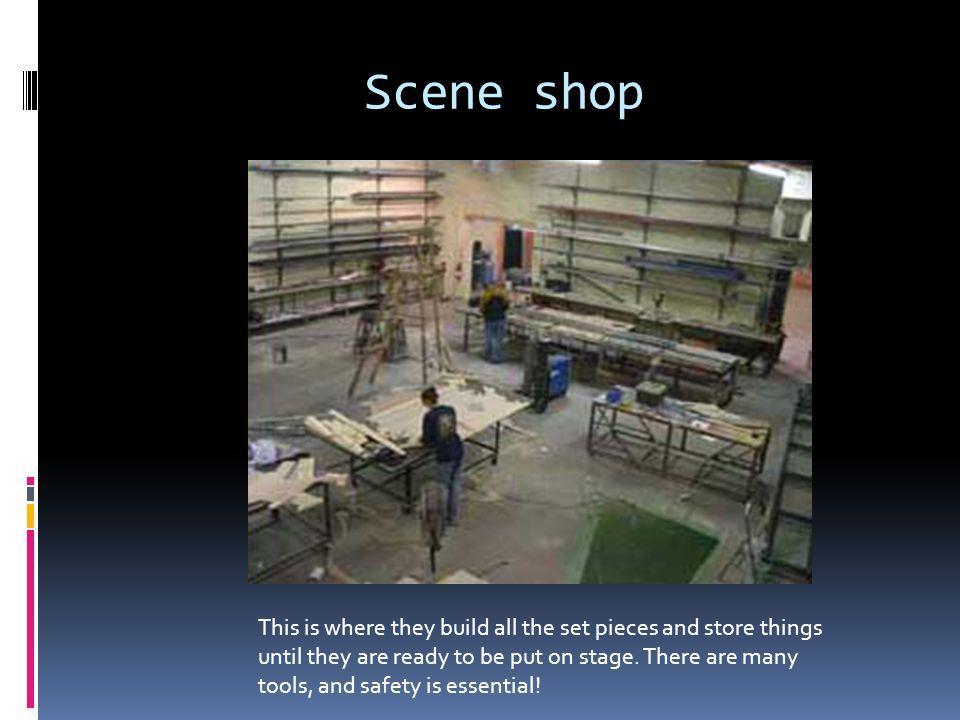 Scene shop