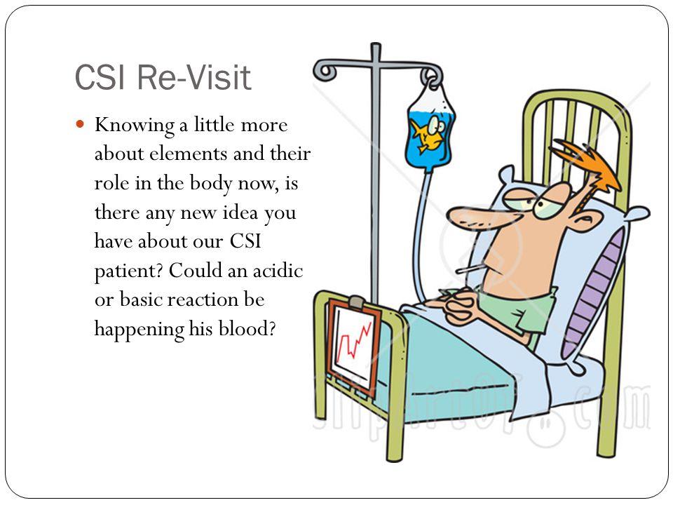 CSI Re-Visit