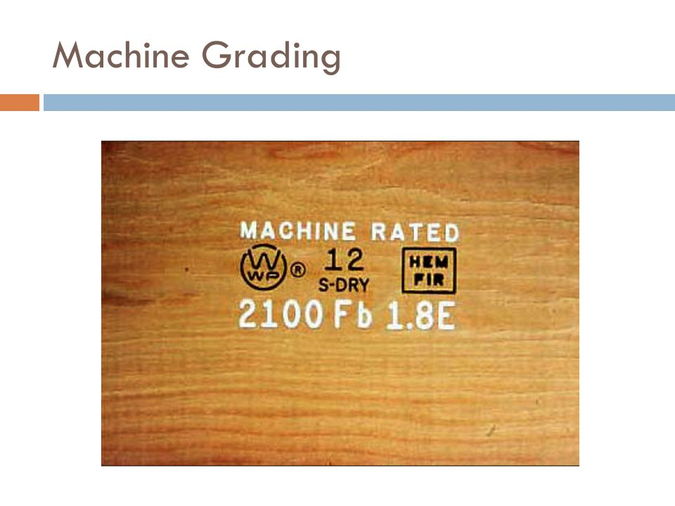 Machine Grading Note the grade is missing