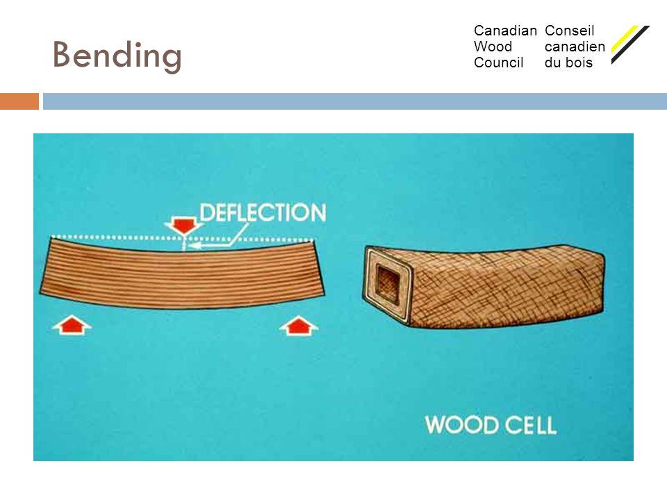 Bending Canadian Conseil Wood canadien Council du bois
