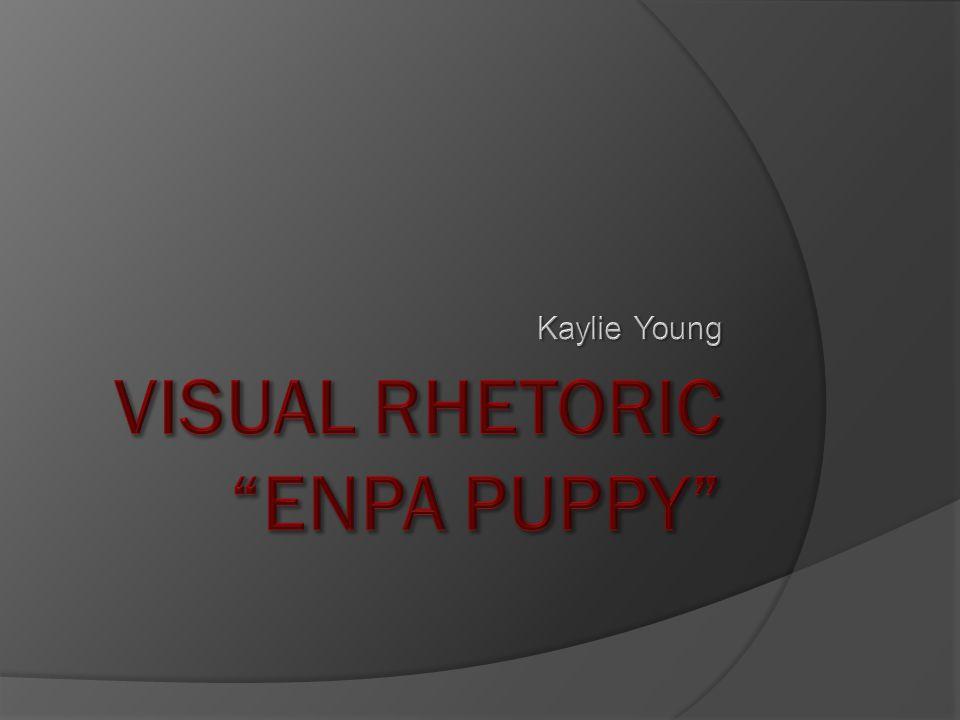 Visual Rhetoric ENPA Puppy