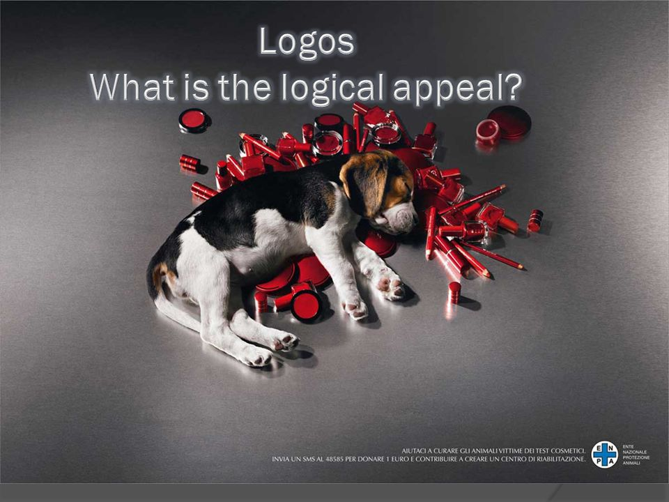 Logos What is the logical appeal