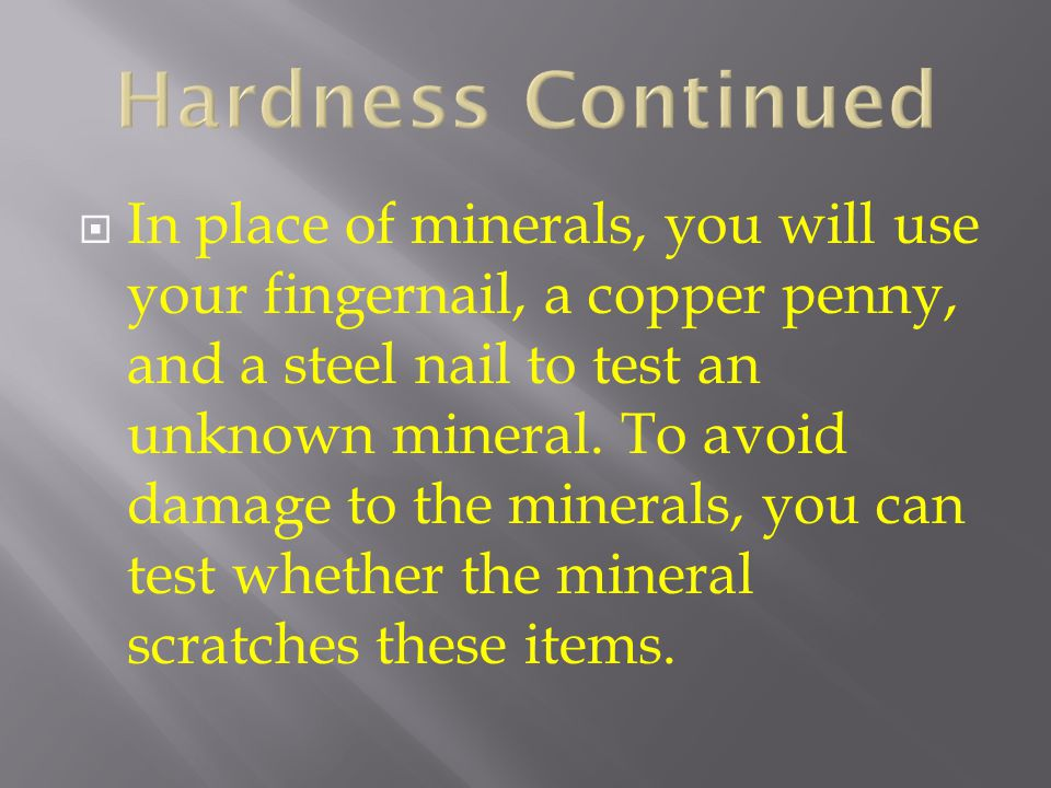 Hardness Continued