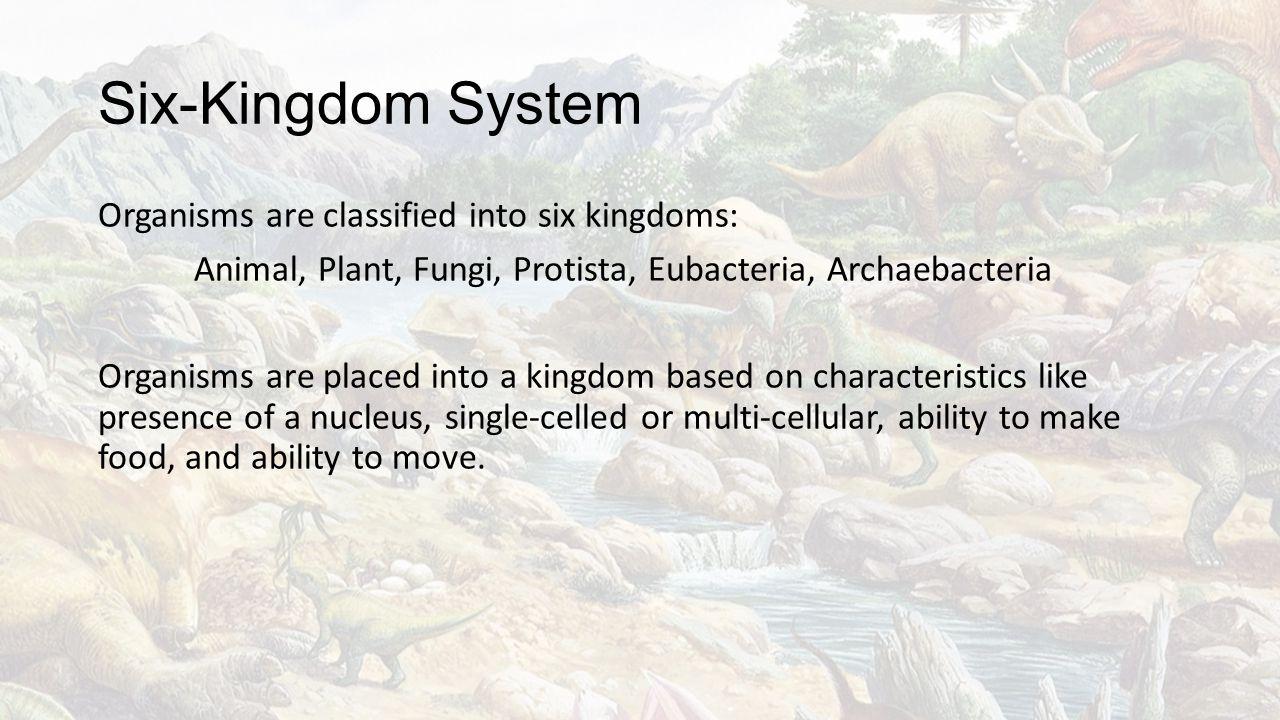 Six-Kingdom System