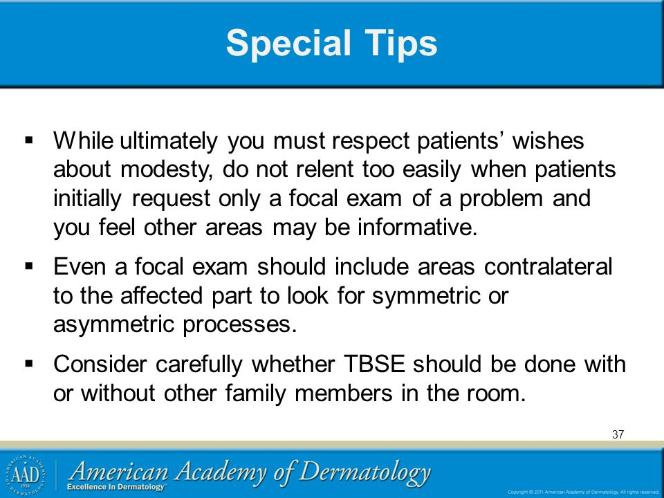 Special Tips