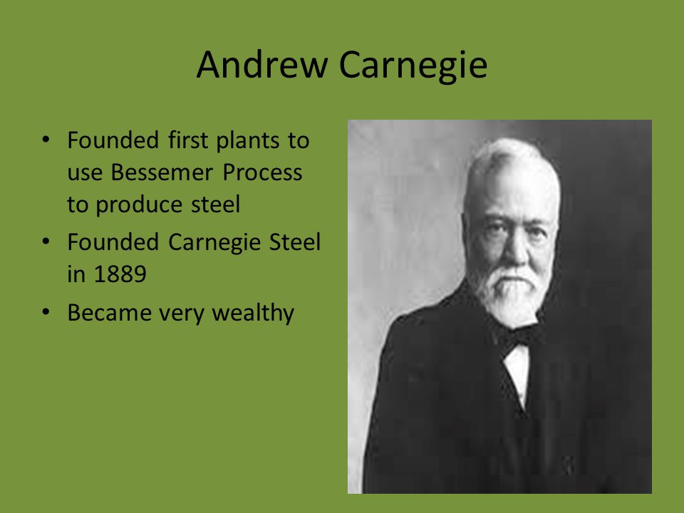 the philosophy of andrew carnegie in the gospel of wealth Andrew carnegie was the self-made steel tycoon this was later published as the 1900 book the gospel of wealth videos andrew mellon a financier and.