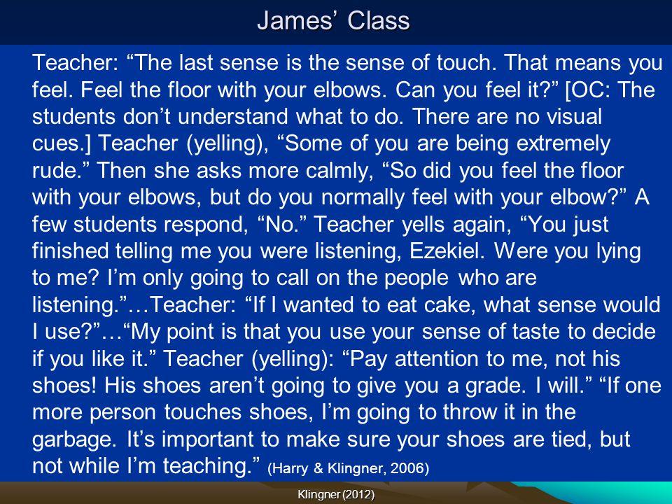 James' Class