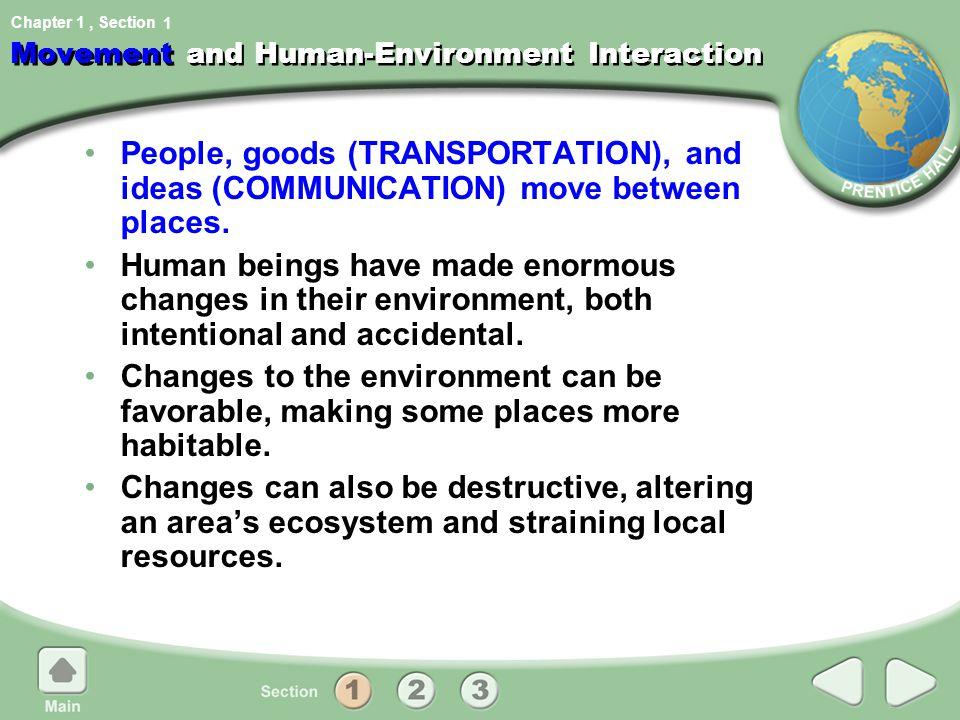 Movement and Human-Environment Interaction
