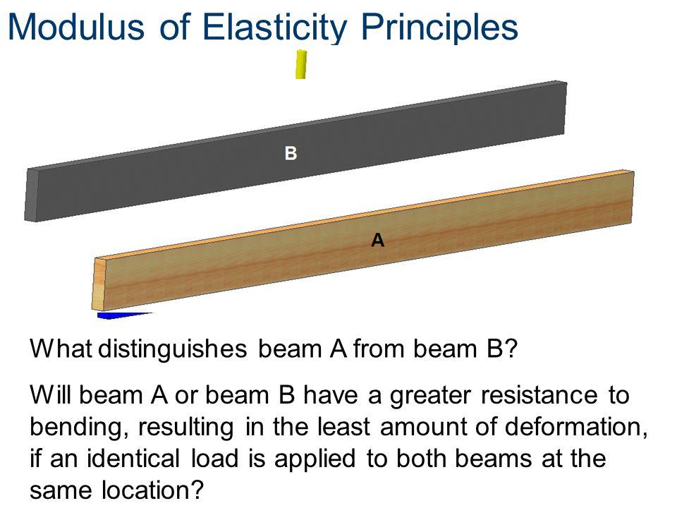 Modulus of Elasticity Principles