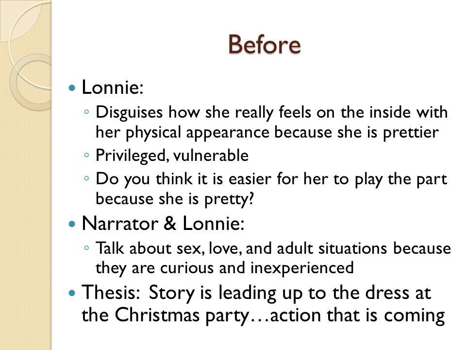 Before Lonnie: Narrator & Lonnie: