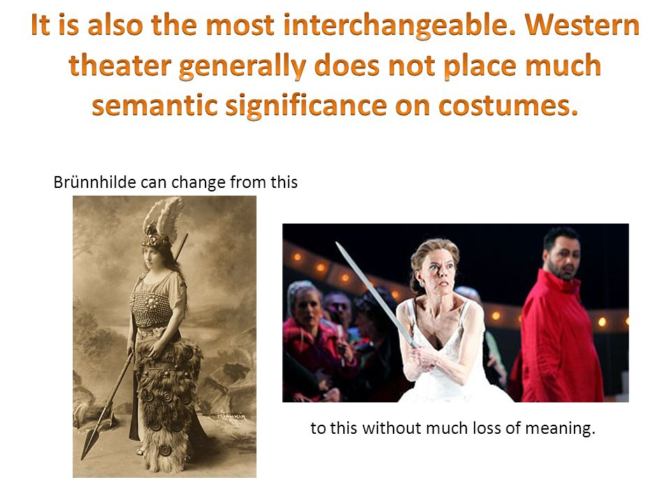 It is also the most interchangeable. Western