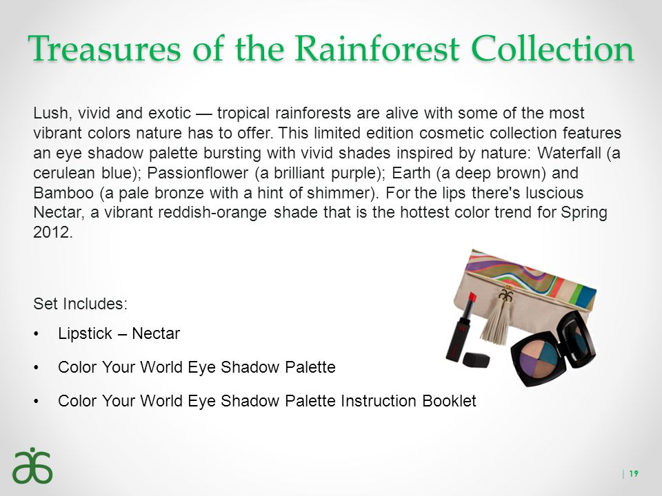 Treasures of the Rainforest Collection