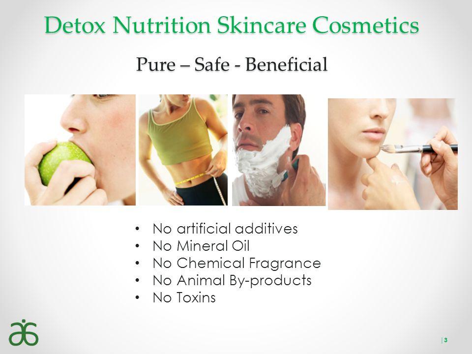 Detox Nutrition Skincare Cosmetics Pure – Safe - Beneficial