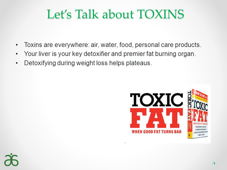Let's Talk about TOXINS