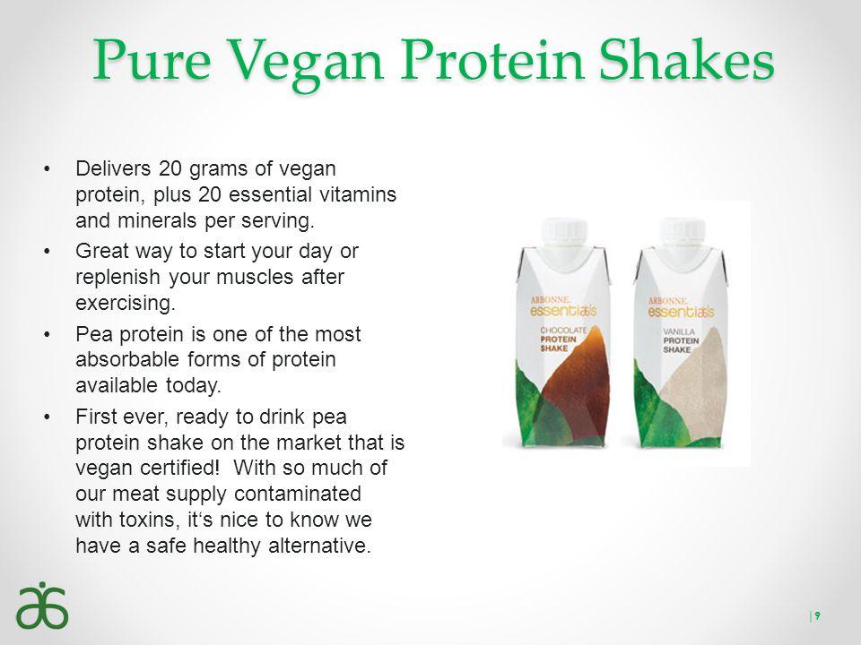 Pure Vegan Protein Shakes