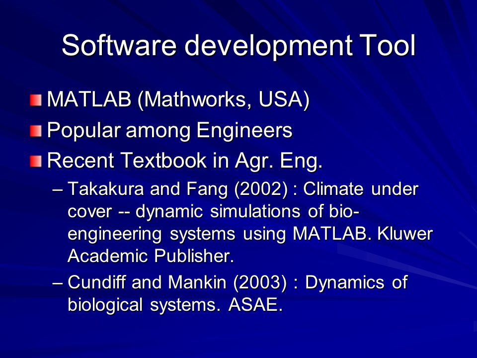 Software development Tool