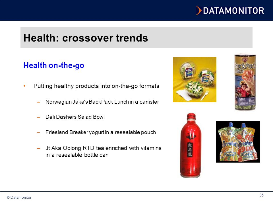 Health: crossover trends