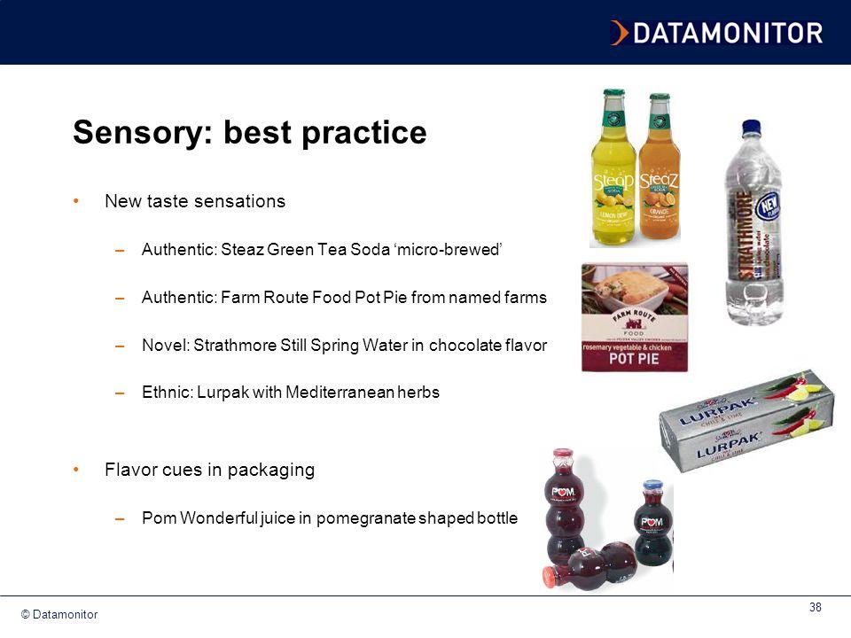 Sensory: best practice
