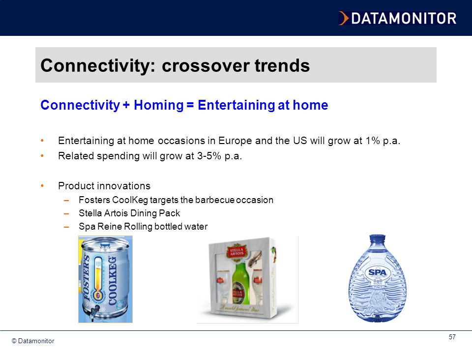 Connectivity: crossover trends