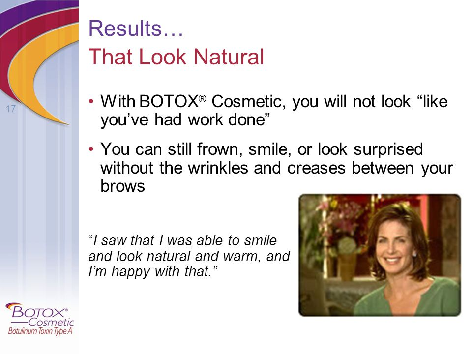 Results… That Look Natural