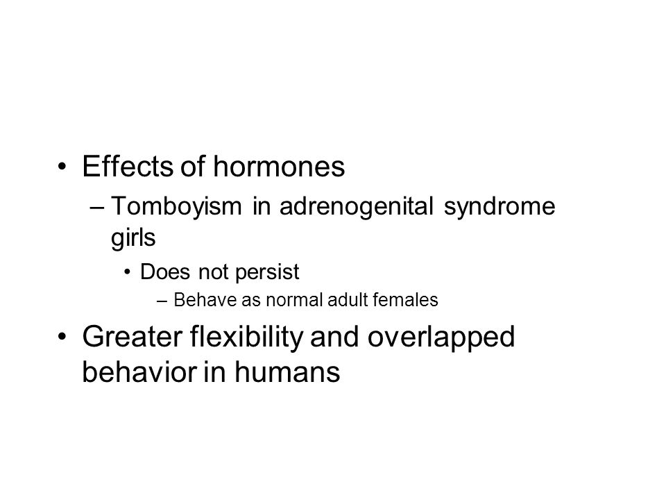 Greater flexibility and overlapped behavior in humans