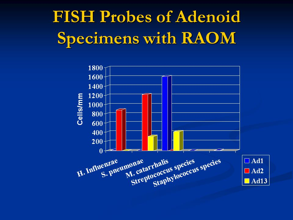 FISH Probes of Adenoid Specimens with RAOM