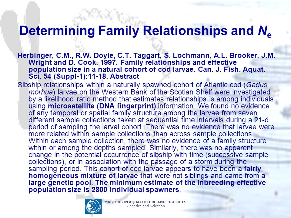 Determining Family Relationships and Ne