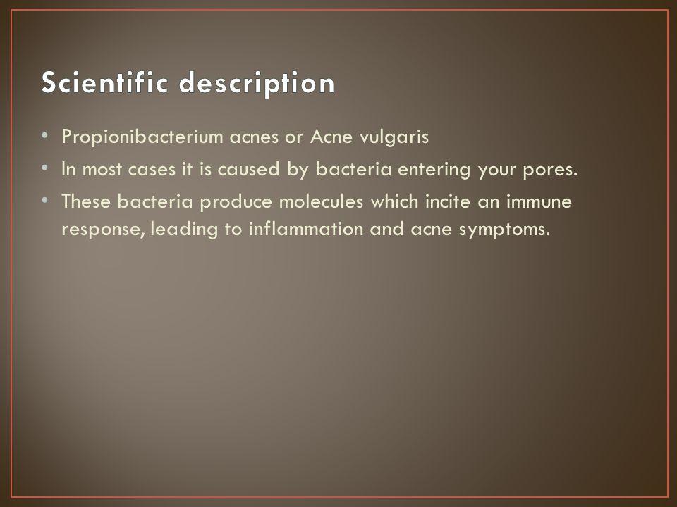 Scientific description