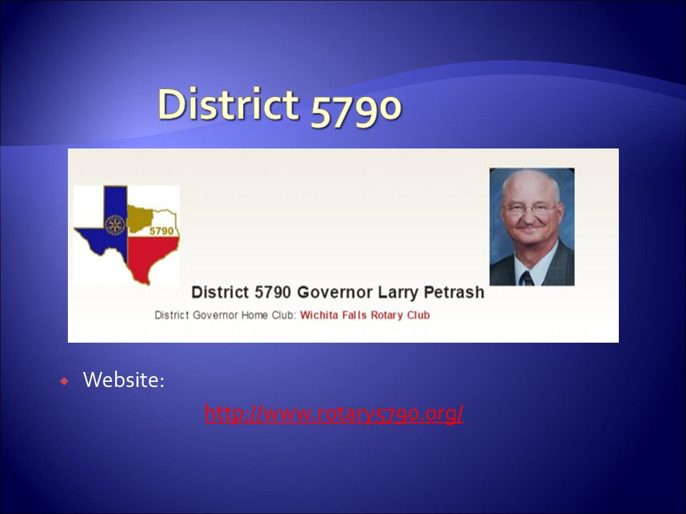 District 5790 Website: http://www.rotary5790.org/
