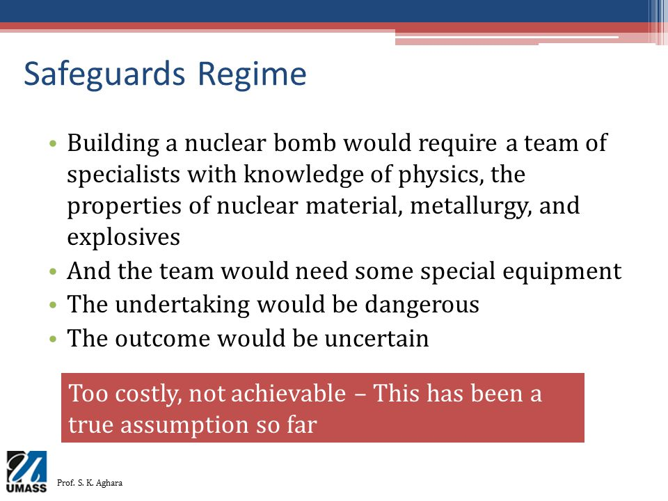 Safeguards Regime