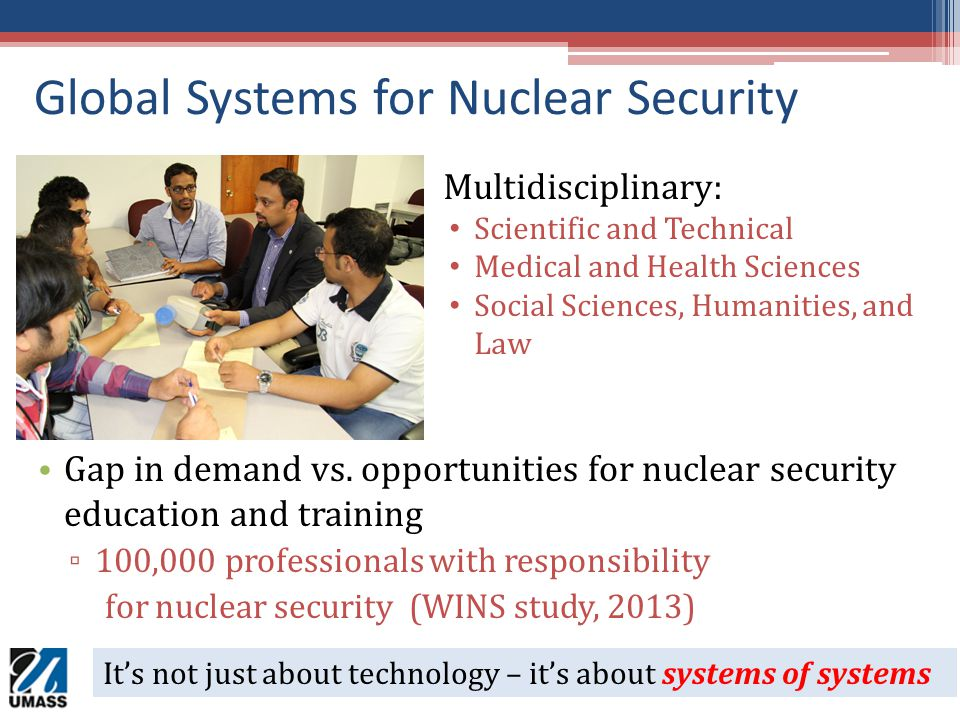 Global Systems for Nuclear Security