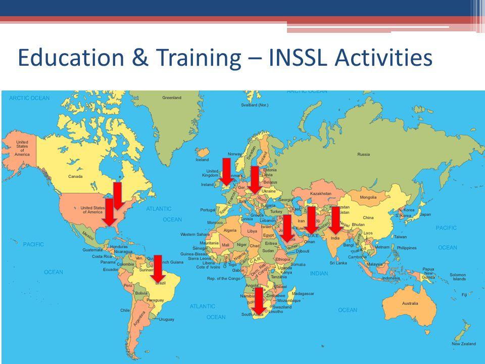 Education & Training – INSSL Activities