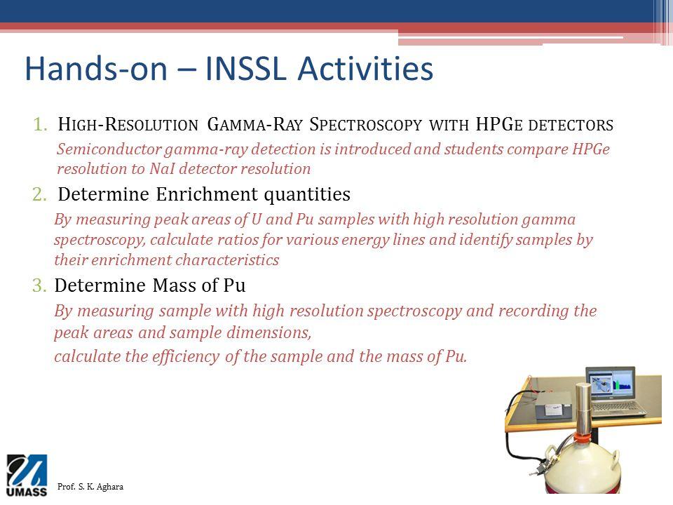 Hands-on – INSSL Activities