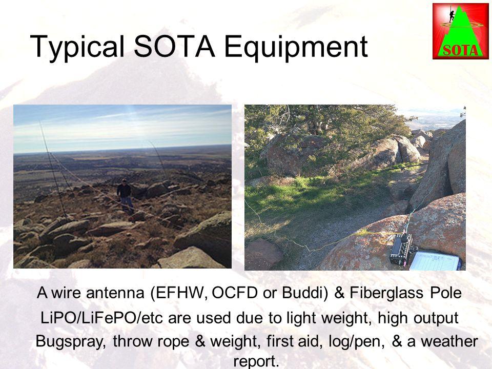 Typical SOTA Equipment