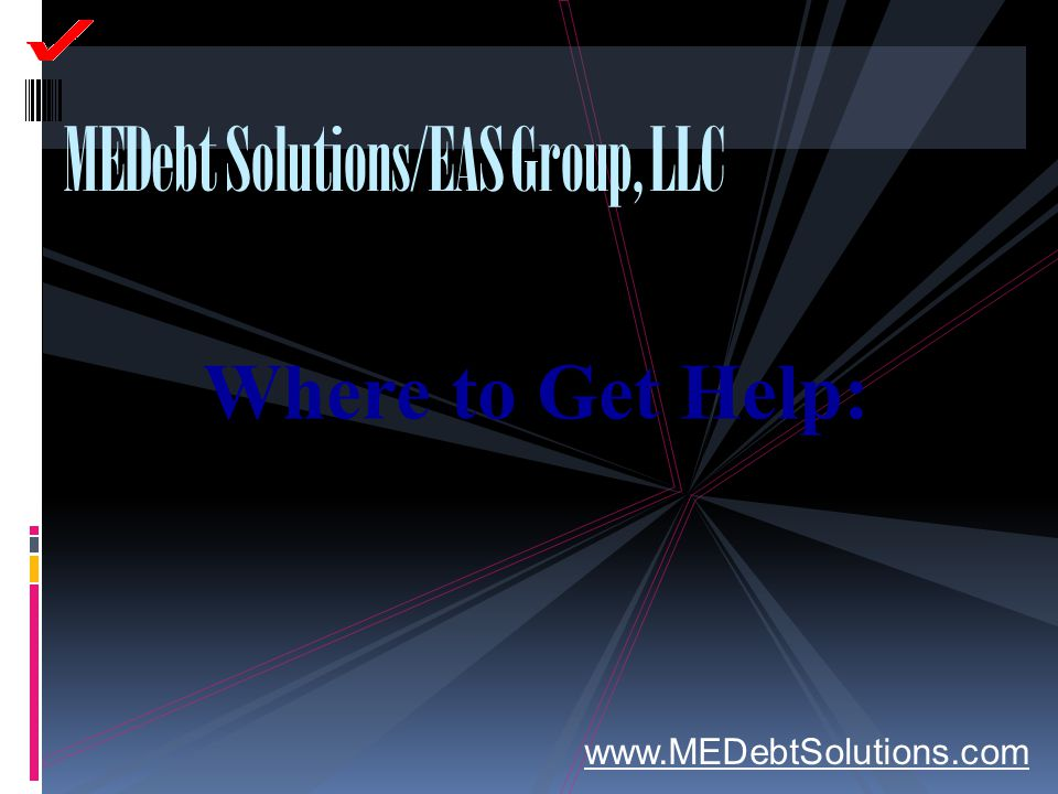 MEDebt Solutions/EAS Group, LLC