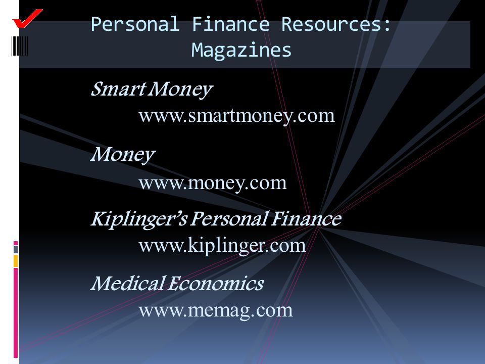 Personal Finance Resources: Magazines