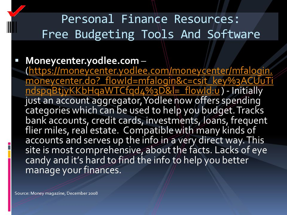 Personal Finance Resources: Free Budgeting Tools And Software